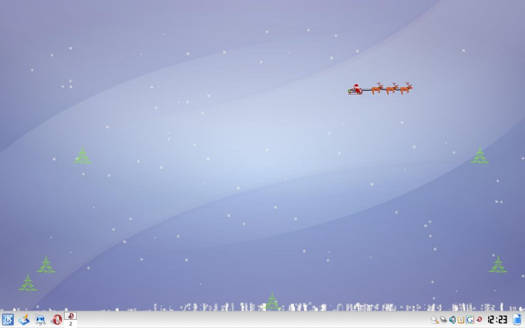 xsnow screenshot
